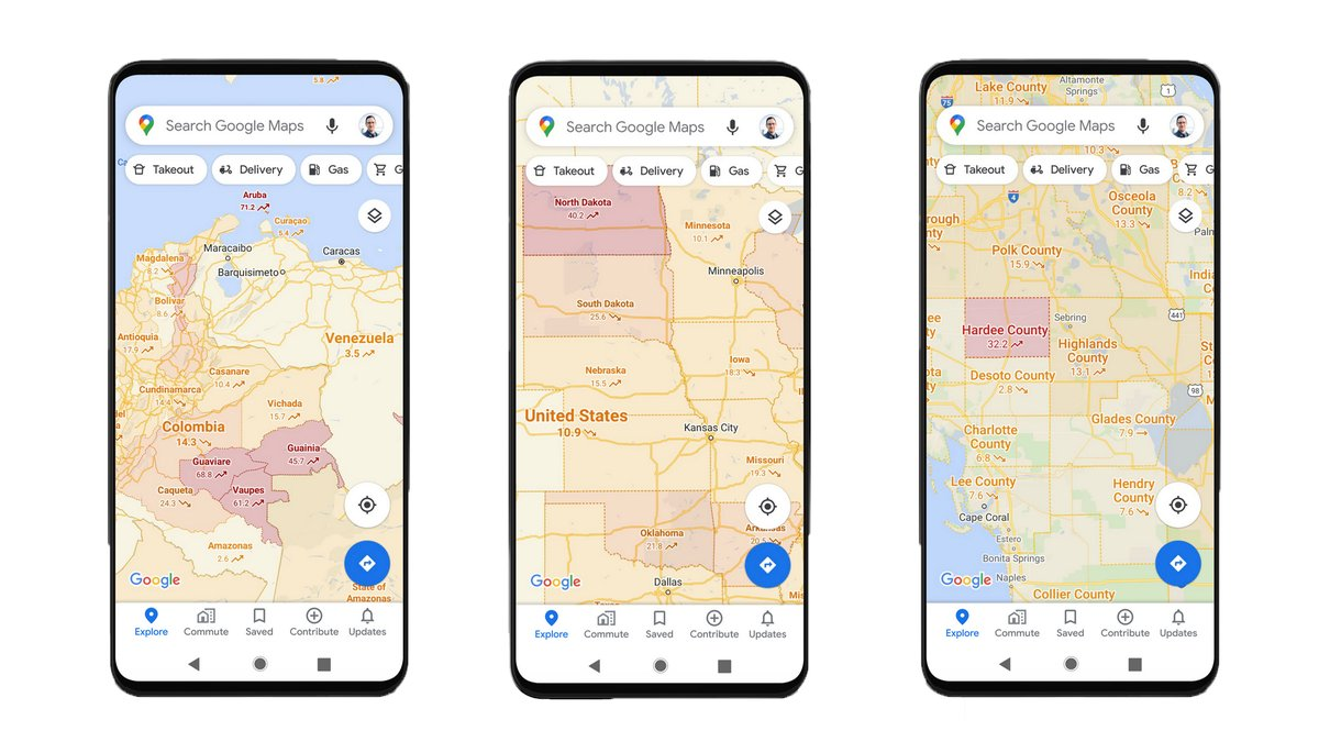 Covid-19 data is coming to Google Maps