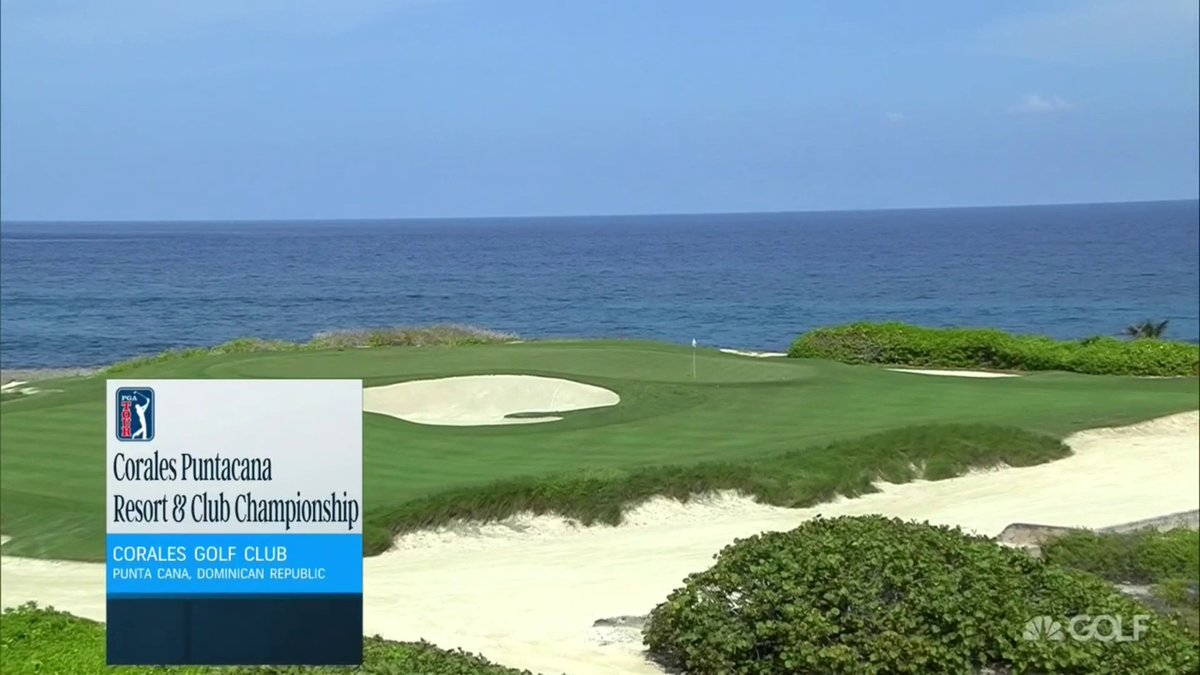 Live golf, brought to you from Punta Cana 🌊  Watch the @CoralesChamp now on GOLF and streaming: https://t.co/kXlAFRVQp9 https://t.co/ktEfNyNvXE