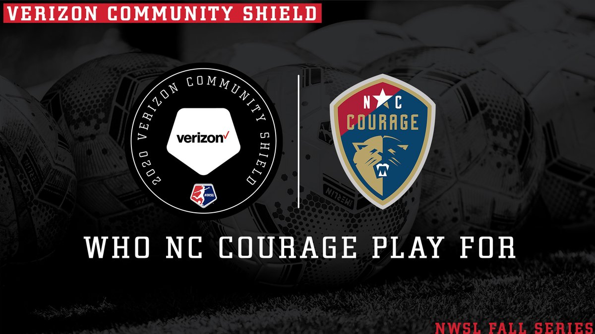 3 2 1 ☕️ @TheNCCourage are representing @drink321coffee, which employs individuals with disabilities as baristas and roasters, during the #NWSLFallSeries. #VerizonCommunityShield