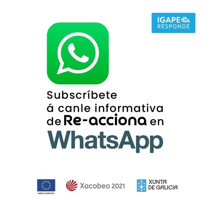 👉#IgapeResponde é o programa de resposta inmediata da  @Xunta para apoiar, asesorar, acompañar e formar a autónomos, comercios e empresas afectados pola #covid19.  Para estar áo día das novas, subscríbete á canle de WhatsApp ▶️https://t.co/jqJgBsVUJ8   #GaliciaCrece https://t.co/iJO7JJFAIH