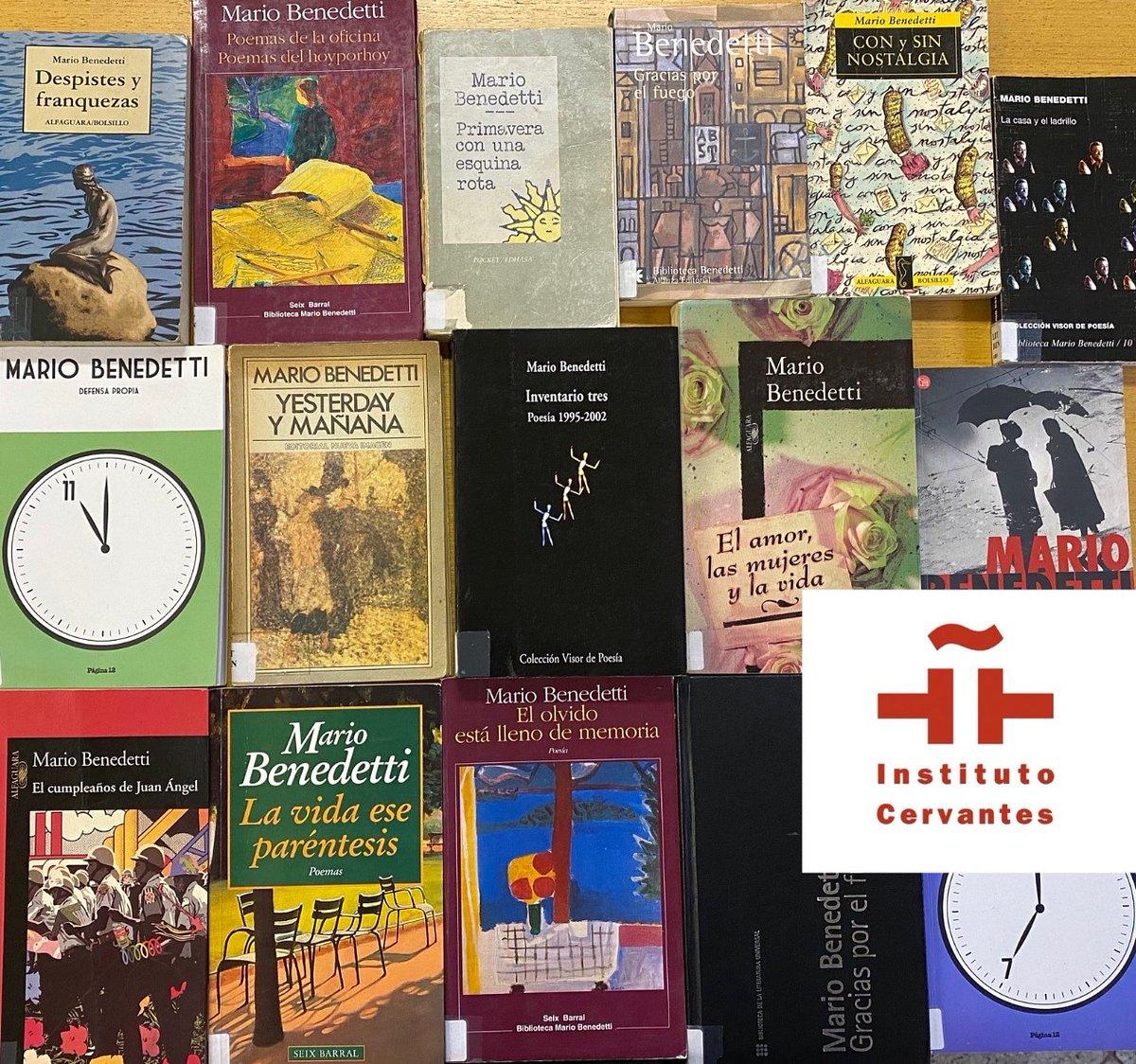 Nossa homenagem ao centenário de nascimento do escritor uruguaio Mario Benedetti. Autor de romances, relatos, poesias, teatro e crítica literária, publicou mais de oitenta livros que foram traduzidos para mais de 20 idiomas. https://t.co/7H7KWmmItH