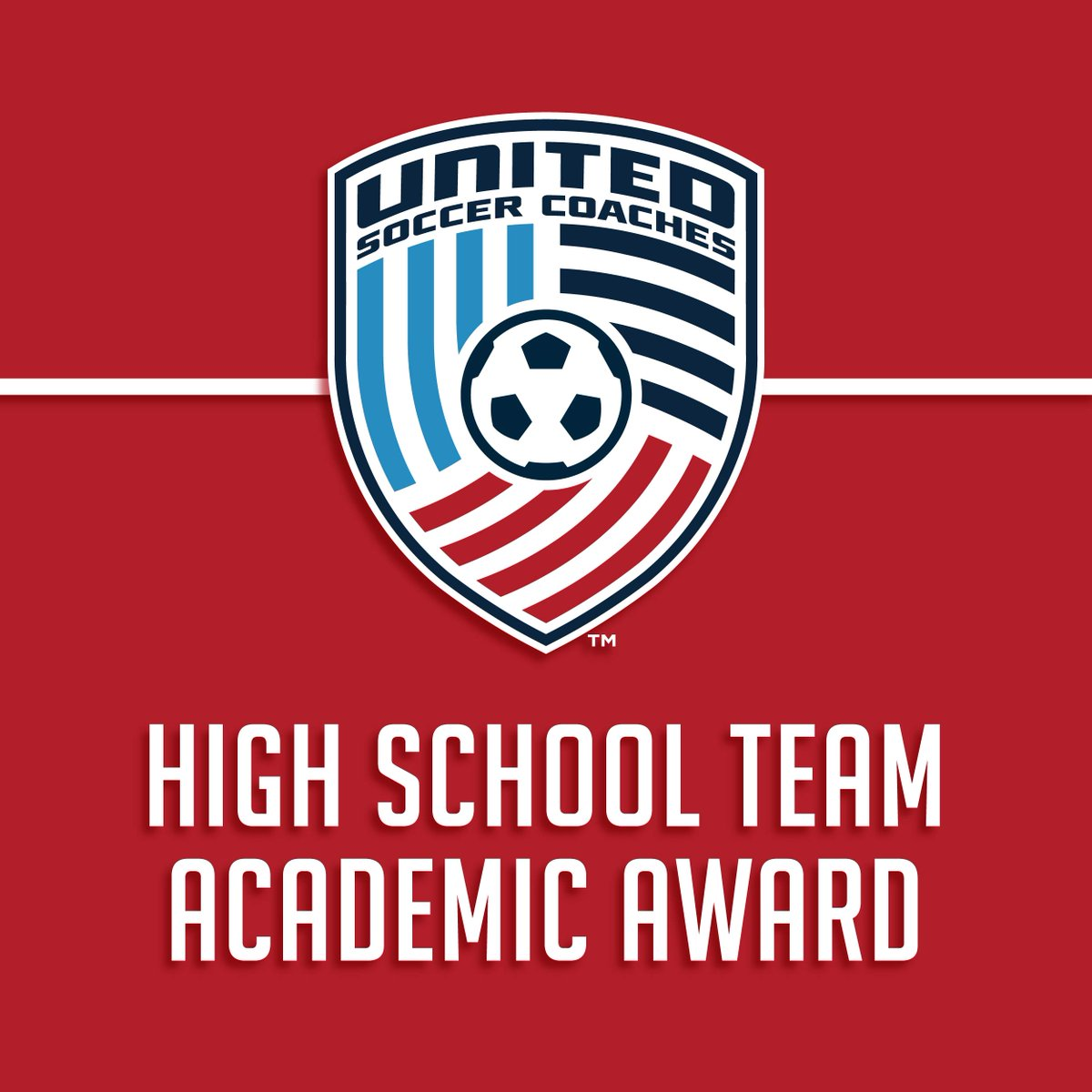 Your Warriors earned this prestigious national academic team award despite not being able to compete on the field this past spring. It's a true testament to our players and their families for the care and devotion to academics!