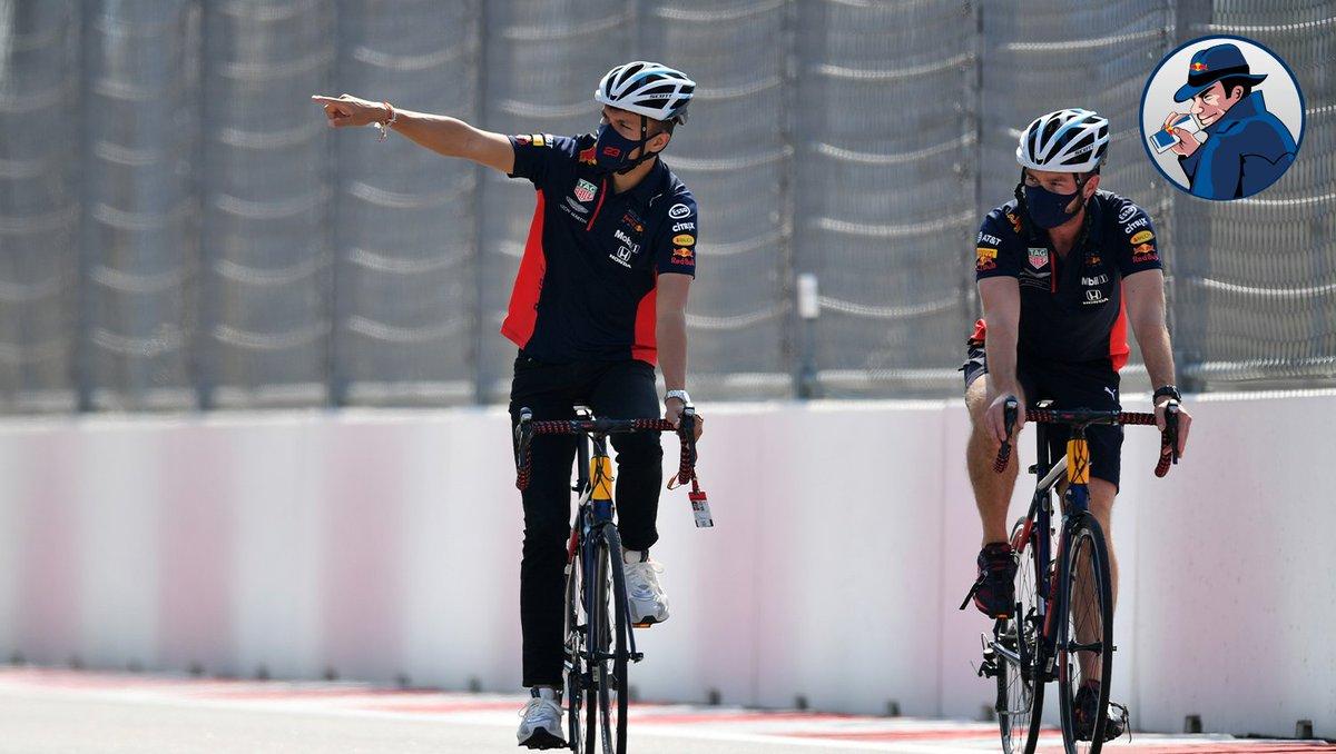 SPY: Hey Alex, which way do most of the corners go in Sochi? #RBspy 🕵️♂️ #RussianGP 🇷🇺 #F1 https://t.co/nw3tKAOXwK