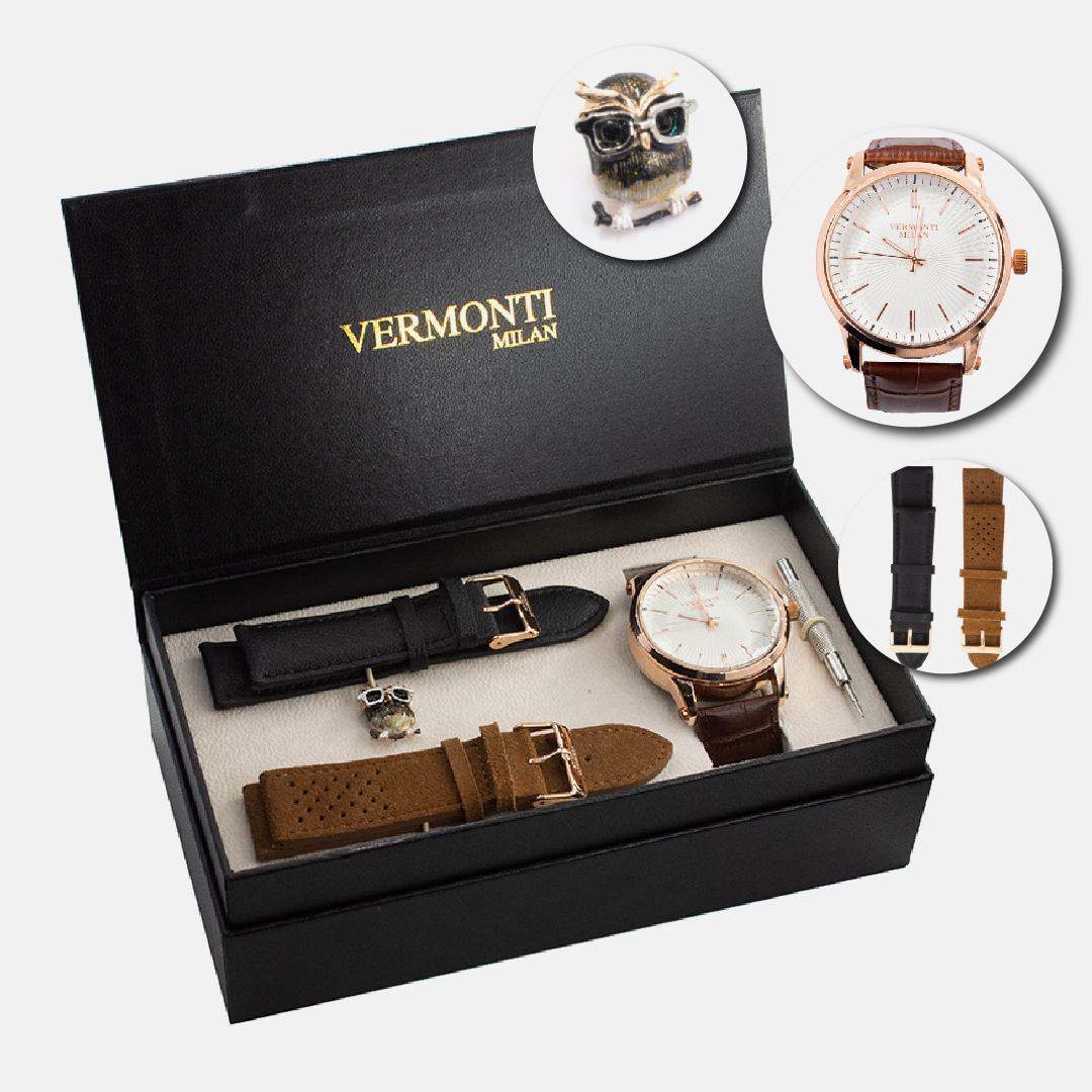 No importa cuál sea la ocasión... 🤔 😉Siempre listo con este increíble set de reloj con cambio de correas. ⌚  💪¡SIEMPRE fuertes, SIEMPRE Unidos!🤜_🤛  #aldoconti #nuevatemporada #musthave #man #fashionista #SS2020 #tendencia #estilo #promociones #Reloj #Set #SiempreFuertes https://t.co/v28aZoEhs8