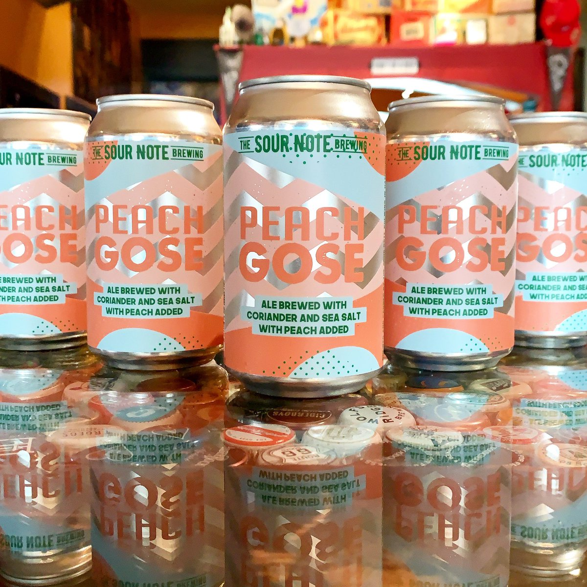 New Gose! @TheSourNoteBrew Peach Gose is here! #beer #craftbeer #gose #peach #sourbeer #getsome #DYT #TheBarrelHouse #Dayton #Ohio #Daytonlovesbeer https://t.co/UPoylONQFq