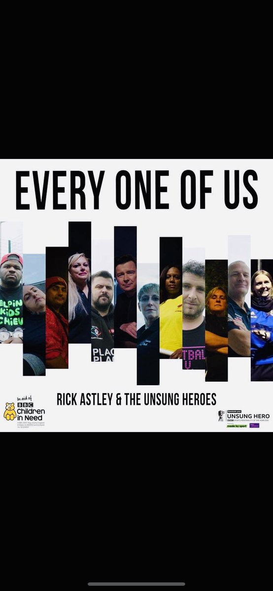 ✨🌟✨FRONT COVER FOR THE SINGLE✨🌟✨ Buzzin & Blessed @rickastley @LighteningUK @BBCSport & @BBCCiN Single... Can't Stop Smiling - CHECK OUT THE MUSIC VIDEO BELOW 👇🏽👇🏽👇🏽 & You Can #donate- #nominate & #DOWNLOAD  #unsunghero #Plymouth  https://t.co/S9tpAlwkxb Peace & ❤️ https://t.co/uMcICLP5T6