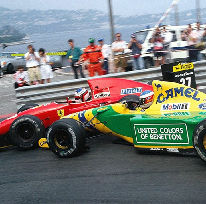 #Alesi #Schumacher #MonacoGP #loews #Monaco1992 #Formula1 #nineties #blogdelring https://t.co/KxjMUBFaCK