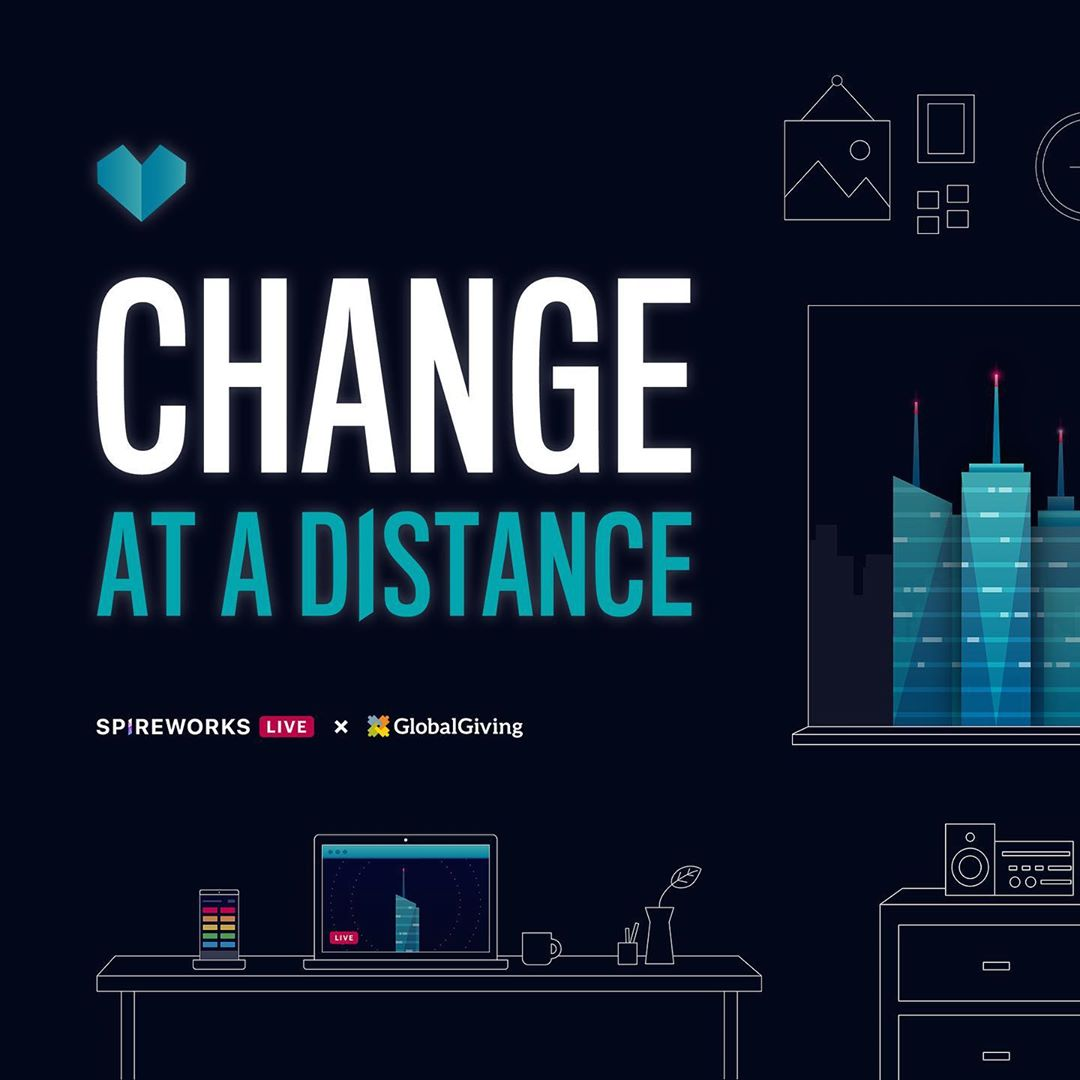 The @Spireworks #ChangeAtADistance campaign reached its $50k fundraising target for 2020! Thank you for participating and supporting @globalgiving COVID-19 charities and Australian bushfire relief efforts.