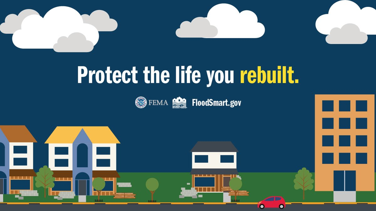 Texas: #Ensure2Insure by 10/24! If you were impacted by #HurricaneHarvey and received a Group Flood Insurance Policy, its time to purchase flood insurance. More: floodsmart.gov #FloodSmart #floodinsurance #NFIP