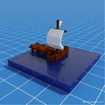 Image for the Tweet beginning: Ship ⛵  #blender3d #blenderrender #3d #3drender