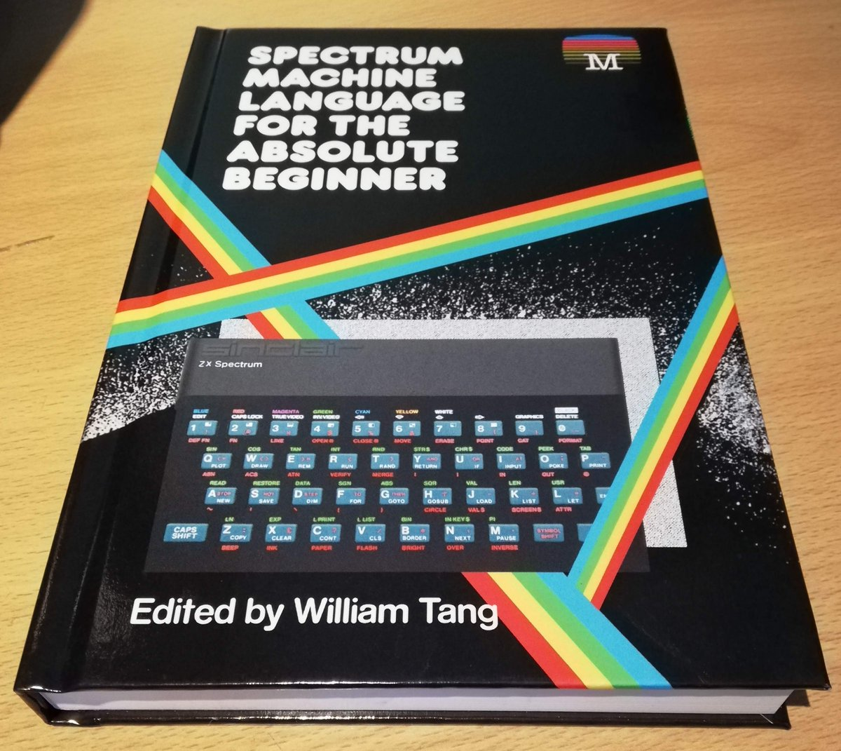 This whole book is monospace type. #hardcore Still, I reckon if I study hard enough, I might make a career in it... https://t.co/PSskO9ZEnn