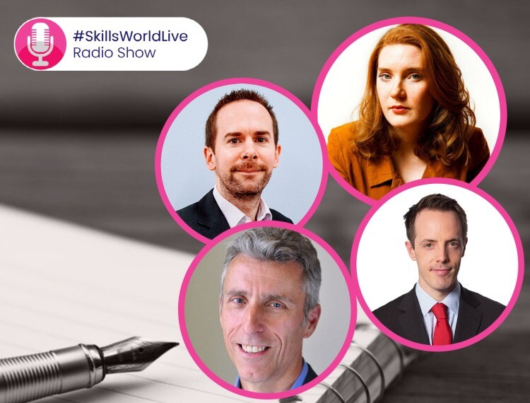 What should be in the FE White Paper? #SkillsWorldLive 2.3: Tonight's guests include:  Ella Whelan | Tom Richmond | Anthony Impey | Simon Ashworth | David Hughes | Ann Franke #SkillsWorldLive 2.3: Thursday 24th September 2020 Presented by the Chief… https://t.co/ApoZH8zSGg https://t.co/CoGhfvNLzn