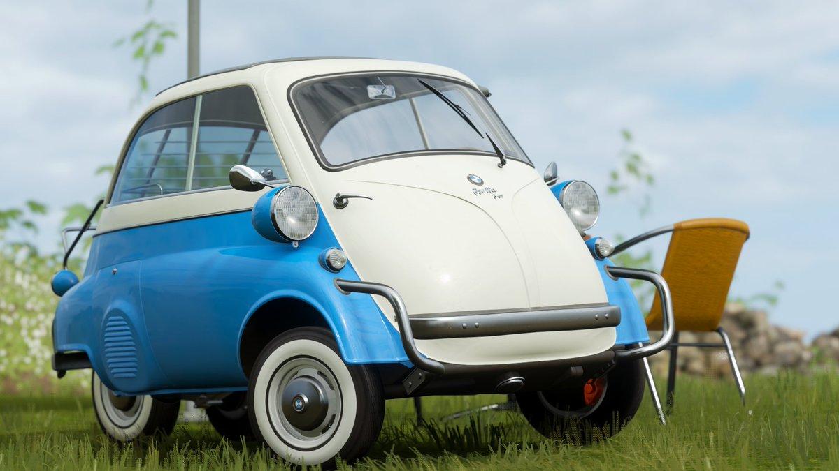Car 511 - 1957BMW Isetta 300 Export  #ForzaHorizon4 #ForzaShare #Xbox #Forza #HorizonPromo https://t.co/HfyHe4Pj6Q