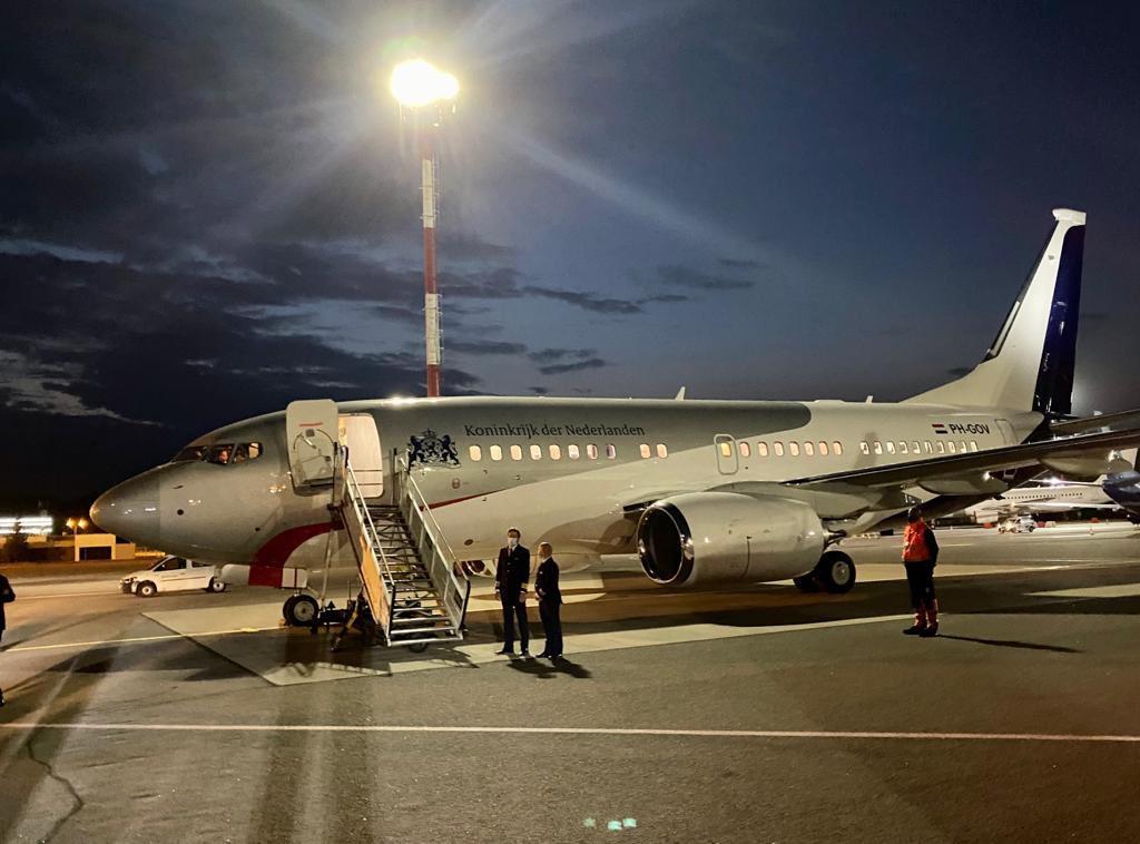 Exclusieve foto! #regeringsvliegtuig PH-GOV op Vilnius Airport 🇱🇹 Minister Stef Blok van Buitenlandse Zaken in Litouwen voor de Beyond Duty – Visas for Life conferentie ✈️  #avgeek #avgeeks #aviation #planespotting #klm #bbj https://t.co/AxPNLyc8Uu