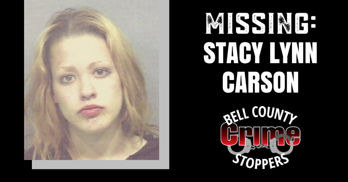 Crime stoppers we need your help with a missing person #coldcase. Stacy Lynn Carson was last seen in Killeen on Feb. 1, 2004. Anonymous #tips can be made online, through the P3Tips app, or by calling 254-526-TIPS (8477). https://t.co/tF9EXHQZNE #missing https://t.co/BzNrenYs3n