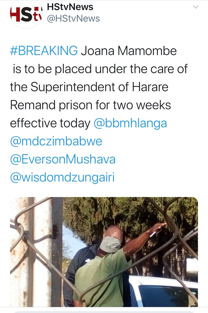 We are increasingly getting fortified that some elements in the legal system in #Zimbabwe are playing politics with the rights of HRDS and democracy activists. How can a tortured sexually abused young female leader MP be committed to prison after being on bail? This is torture. twitter.com/ZLHRLawyers/st…