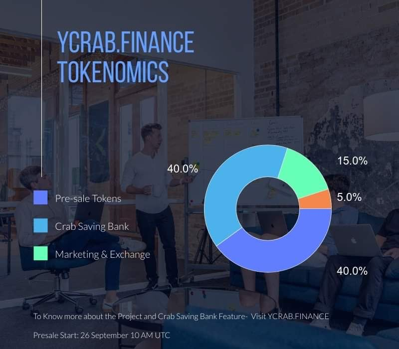 this event i will get into  you #dyor as always https://t.co/VBkvDuzJym $crab  telegram https://t.co/WEko2lUsDT twt @YcrabFinance  metric on presale 1 ETH = 17000 CRAB #YieldFarming  and so on  presale start in 2 days  Sep 26, 2020 (10:00AM UTC) 1 hour sell window https://t.co/jcYuFrNVWr