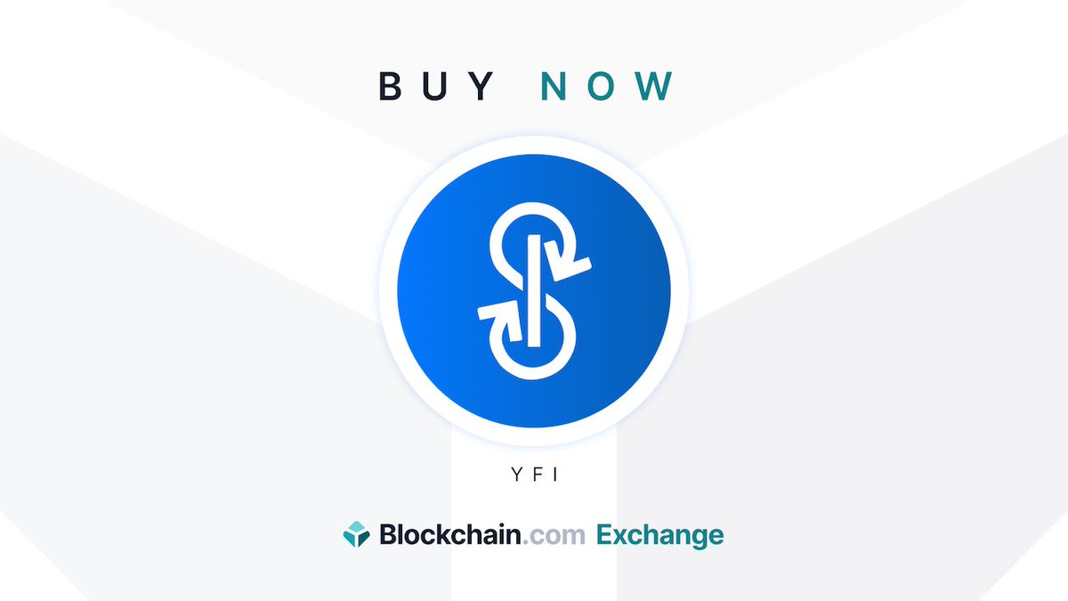 Buy one of the most popular #DeFi tokens on the market - yearn finance ($YFI) - directly on the https://t.co/0DZyULavbV Exchange.   Get started now 👉  https://t.co/hTRyU9DfIi https://t.co/Jx6z5CVcrr