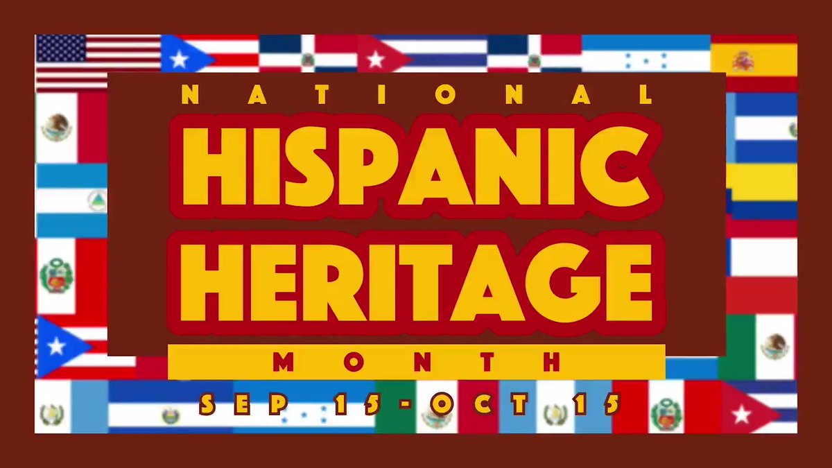 During #HispanicHeritageMonth, we celebrate the achievements of Hispanic Americans and recognize their countless contributions to our Navy and to our Nation. #HispanicHeritageMonth2020
