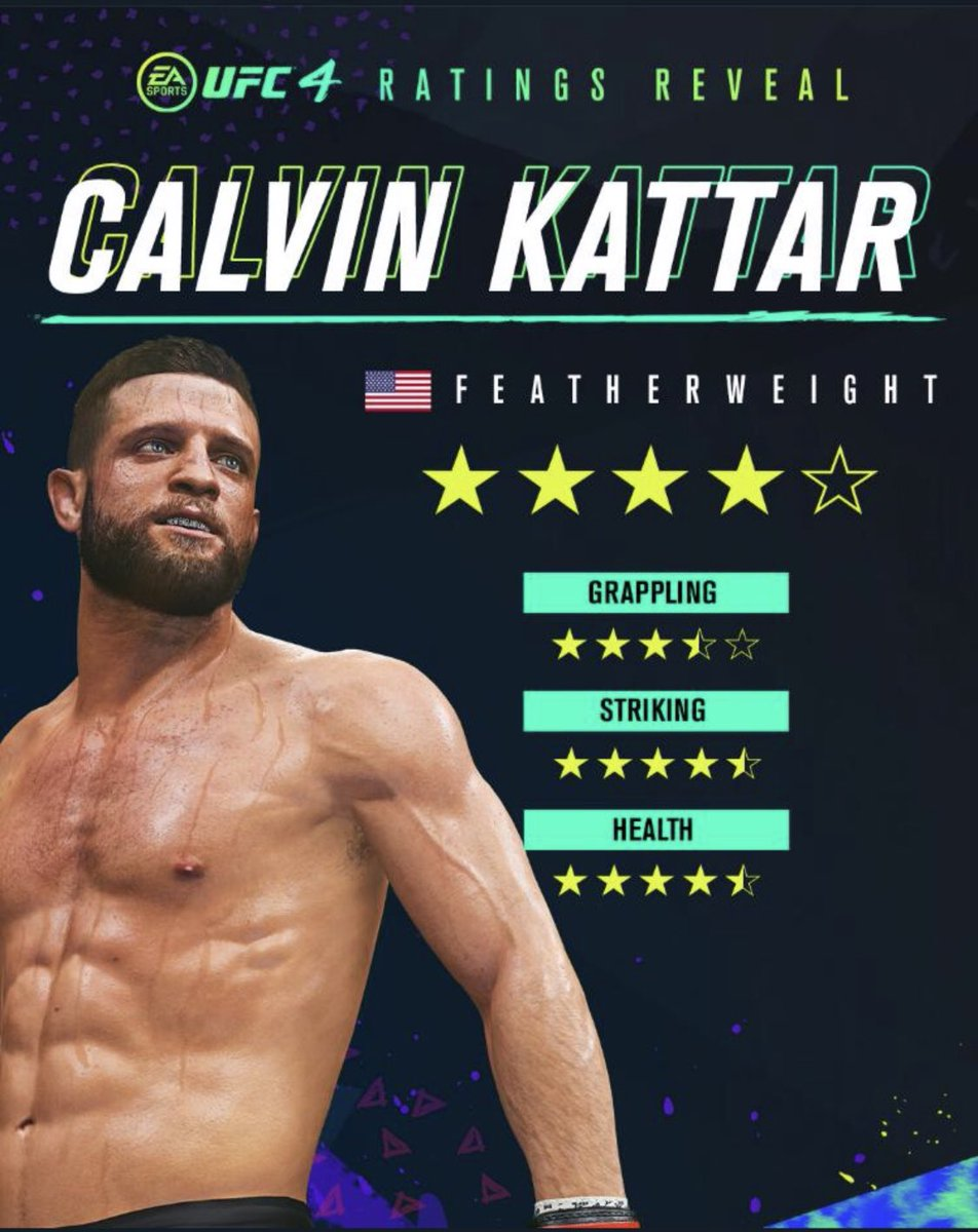 Check point ✅   In my first video game! Shoutout to @easportsufc but now do the right thing and get my boy @rob_font in the game!!   #NewEnglandCartel #ComingForThatFifthStar #UFC4 https://t.co/CqdEkqzvFH