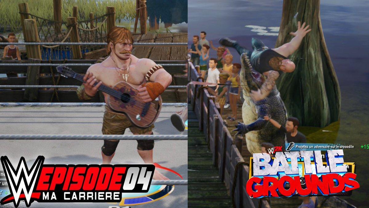 On continue notre histoire sur #WWE2KBattlegrounds  Avec l'épisode 4, ou on rencontre le maître des Serpents ! https://t.co/gbk6AyhS6v https://t.co/QY0m61yGyq