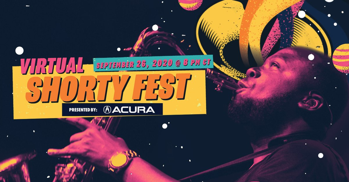 Trombone Shorty Foundation gives students and mentors of the New Orleans jazz community a stage to be heard. Acura is proud to partner with and help amplify its message and music. Tune in for #ShortyFest on Sat, 9/26, at 8 p.m. CT. https://t.co/NFcganNzqc
