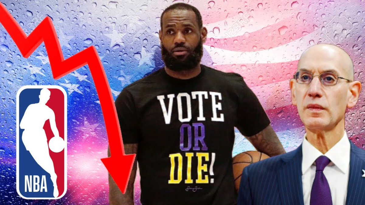 SPORTS WARS ❖ NBA Ratings DISASTER | Lebron James and Woke NBA Are Dividing The Country ❖ https://t.co/F9k7cRJNzZ ❖ @SportsWarsNet @KinelRyan @GeeksGamersCom https://t.co/SmHXuSdYvL