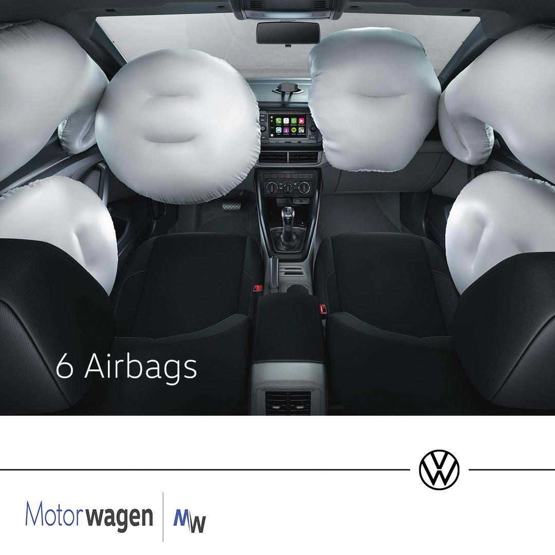 T-Cross la camioneta con 5 estrellas de seguridad de Latin NCAP, equipada con 6 airbags que garantizan la seguridad de todos los ocupantes.  Descubrela ahora en nuestras vitrinas: ☎4851255  #MotorwagenCali #VolkswagenMotorwagen #VWCali #VolkswagenColombia #Volkswagen #VW https://t.co/2ZpcjHbdxV