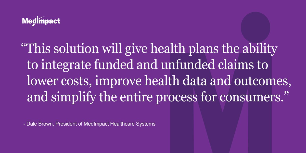 MedImpact's new solution integrates #prescription discount cards with traditional prescription benefits. It gives plans a more complete view of their members' health while reducing Rx costs for members. #winwin https://t.co/yfEFR1au3W https://t.co/Erh42DcEcp