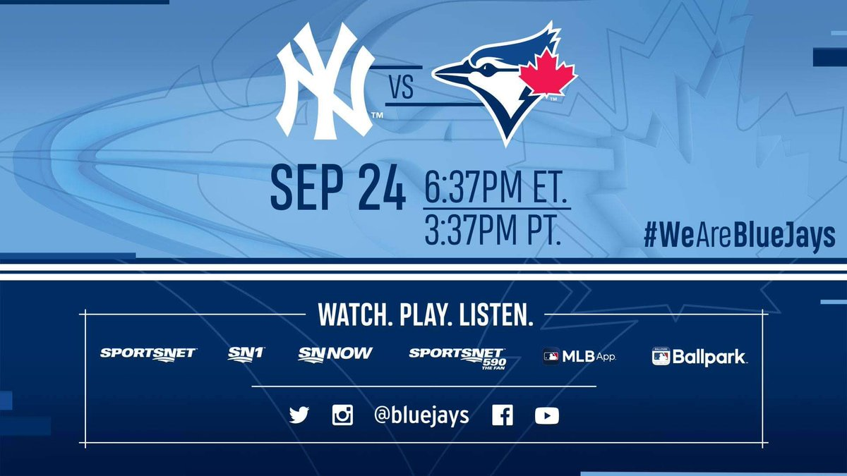 It's Ryu Day 😃 #TuneIn tonight as we look to clinch a Postseason berth!
