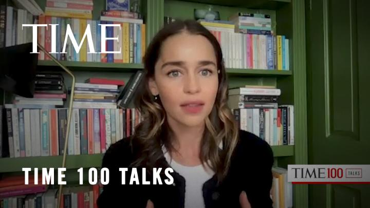 """We're all experiencing a collective grief."" At today's #TIME100 Talks, Emilia Clarke talks about grieving during a pandemic https://t.co/yB8O59zkIH"