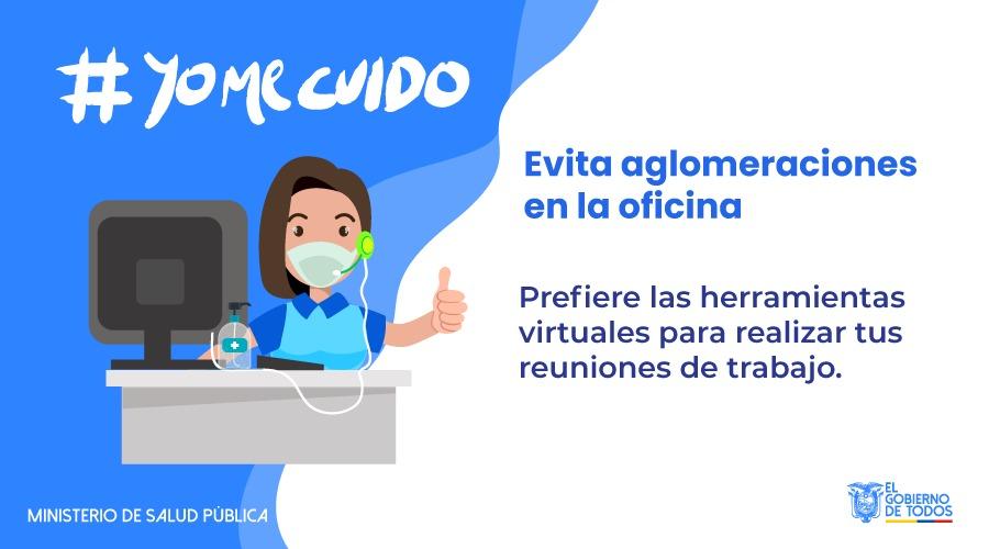 #YoMeCuido | Hoy cuentas con innovadoras herramientas para hacer de tu trabajo un lugar seguro frente al #COVID19. Úsalas y cuida de tu salud y la de todos. Más info en → https://t.co/9VT3HfBqX1  #ActivadosPorLaSalud https://t.co/sEgMAMO0UA