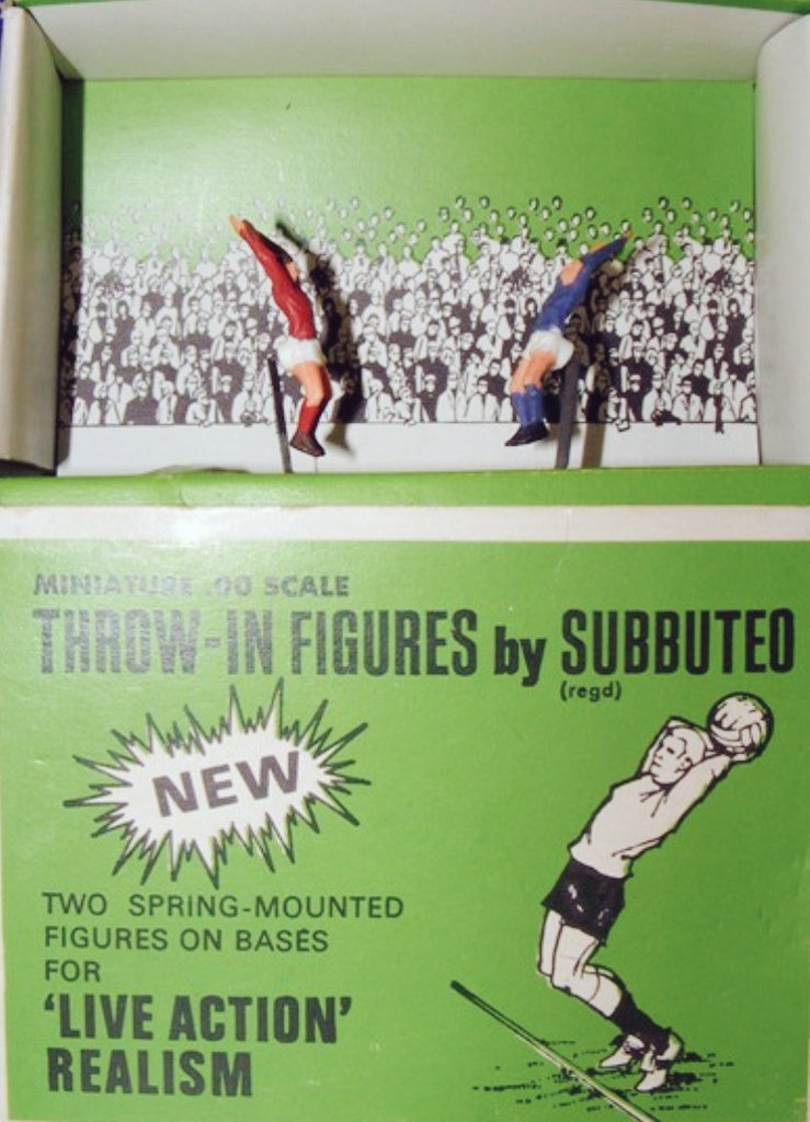 Subbuteo Throw-in-Figures   #Throwins #Subbuteo #FootyGames https://t.co/BBPfEmqEWo