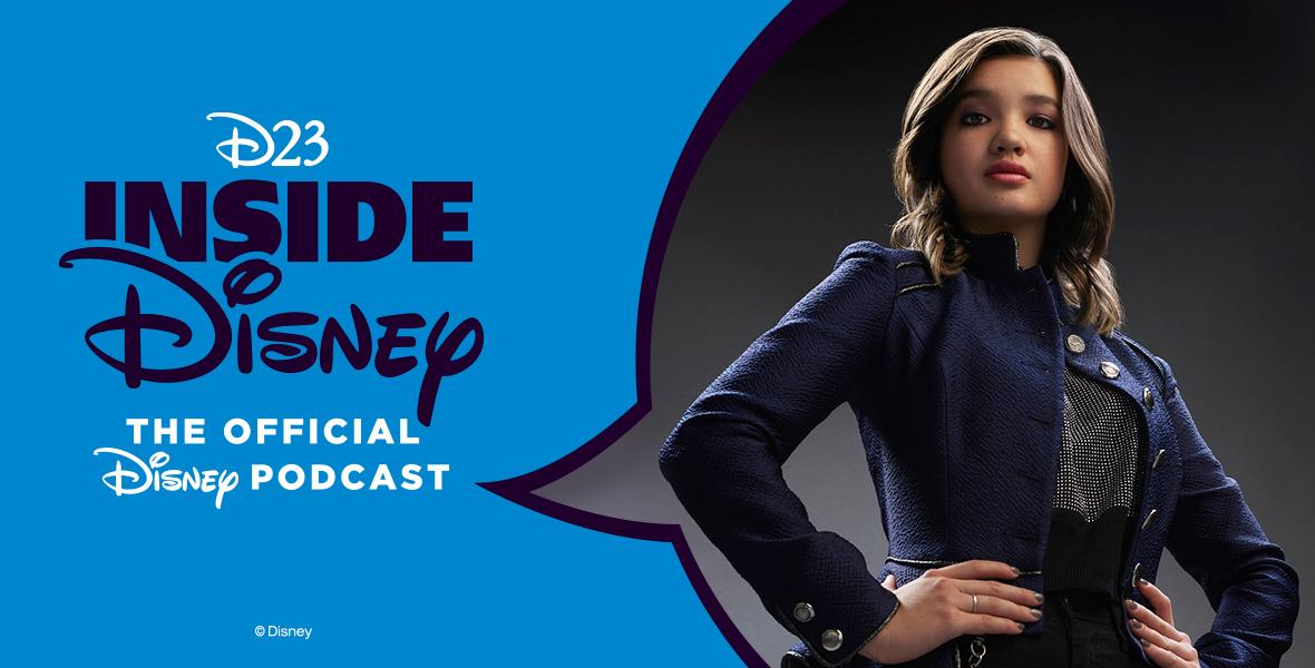 NEW: @leecommapeyton talks super powers and set surprises from Secret Society of Second-Born Royals: https://t.co/t1joQCY4gp Spotify: https://t.co/WrB1yee3GG Apple Podcasts: https://t.co/eo3GM0100Q #D23InsideDisney #DisneyMagicMoments #SSSBR https://t.co/La0qfIfP5R