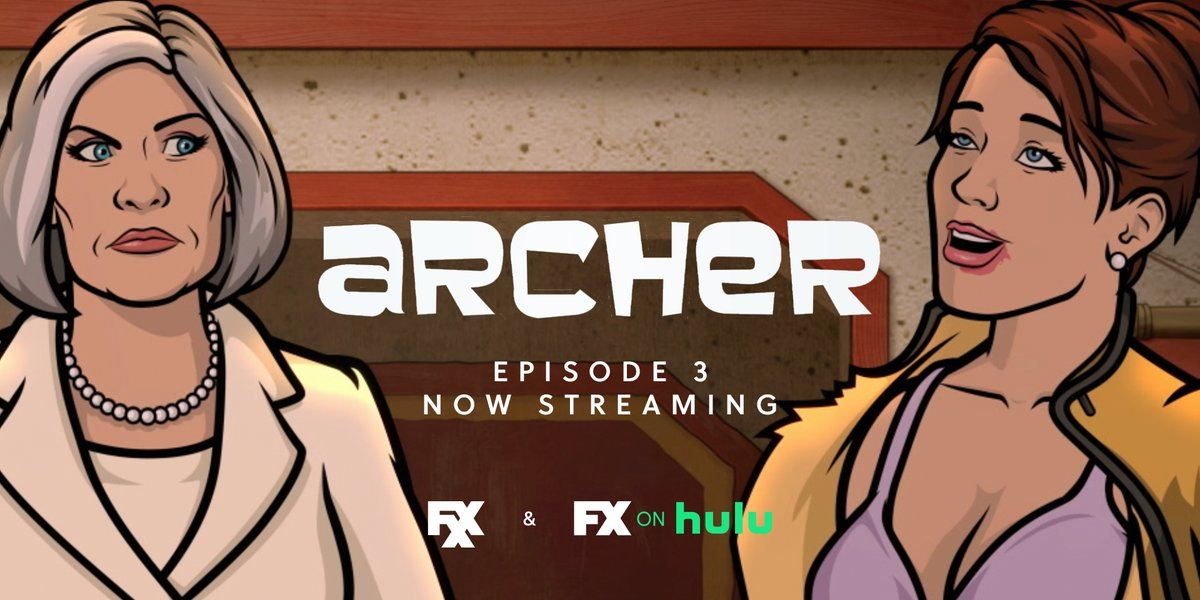 old habits die hard, newbettercheryl dies harder. ep 3 of @archerfxx is now streaming on #FXonHulu. https://t.co/eejqzI47lh