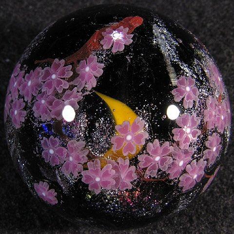 cherry blossom marbles by akihiro okama https://t.co/b8zYNVmLxT