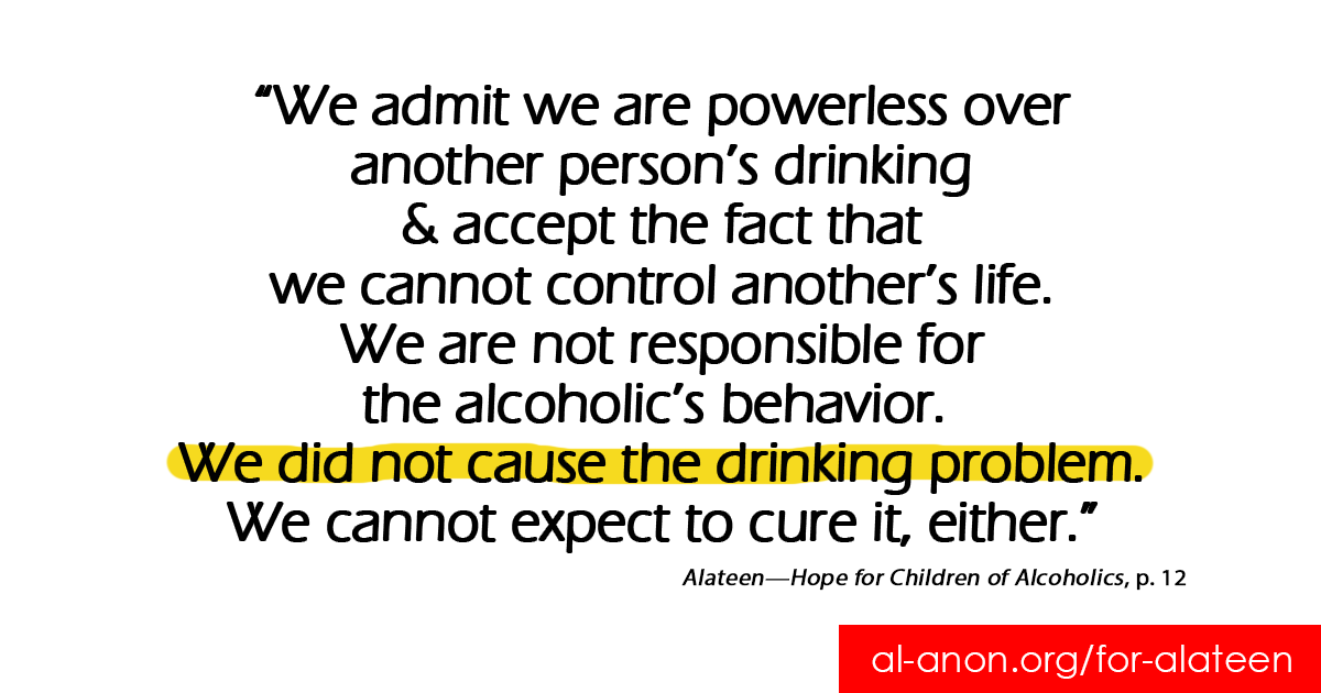 If you feel like you mk your #alcoholic parent drink, you might want to try an #Alateen meeting @goo.gl/8F4WSB  Chat https://t.co/PaTlUafuWG  #AlAnon #FamilyDisease #FamilyRecovery #teensupport #COA #alcoholism #addiction #myrecovery #12Step #AA #alcoholicparent #mystory https://t.co/k072xx4adl