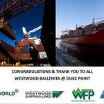 Image pour le début du Tweet: Westwood Shipping Line's MV Ballenita