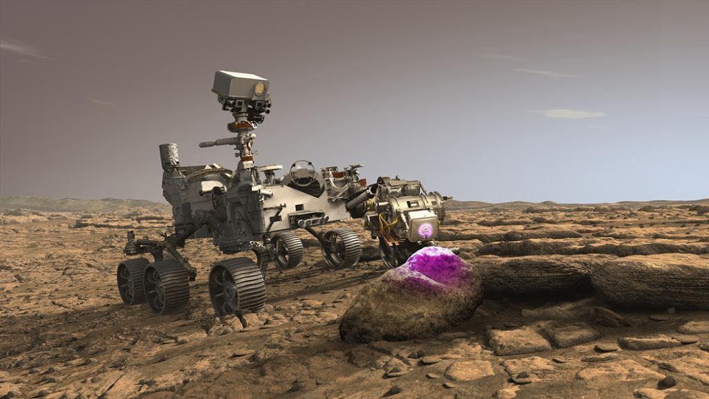 El Rover Persevere está en camino a Marte, aterrizará el 18 de febrero de 2021 para comenzar su misión científica. Con un dispositivo de rayos X impulsado por inteligencia artificial, el rover buscará rastros de vida microscópica de miles de millones de años atrás. https://t.co/d804Xhyrmk