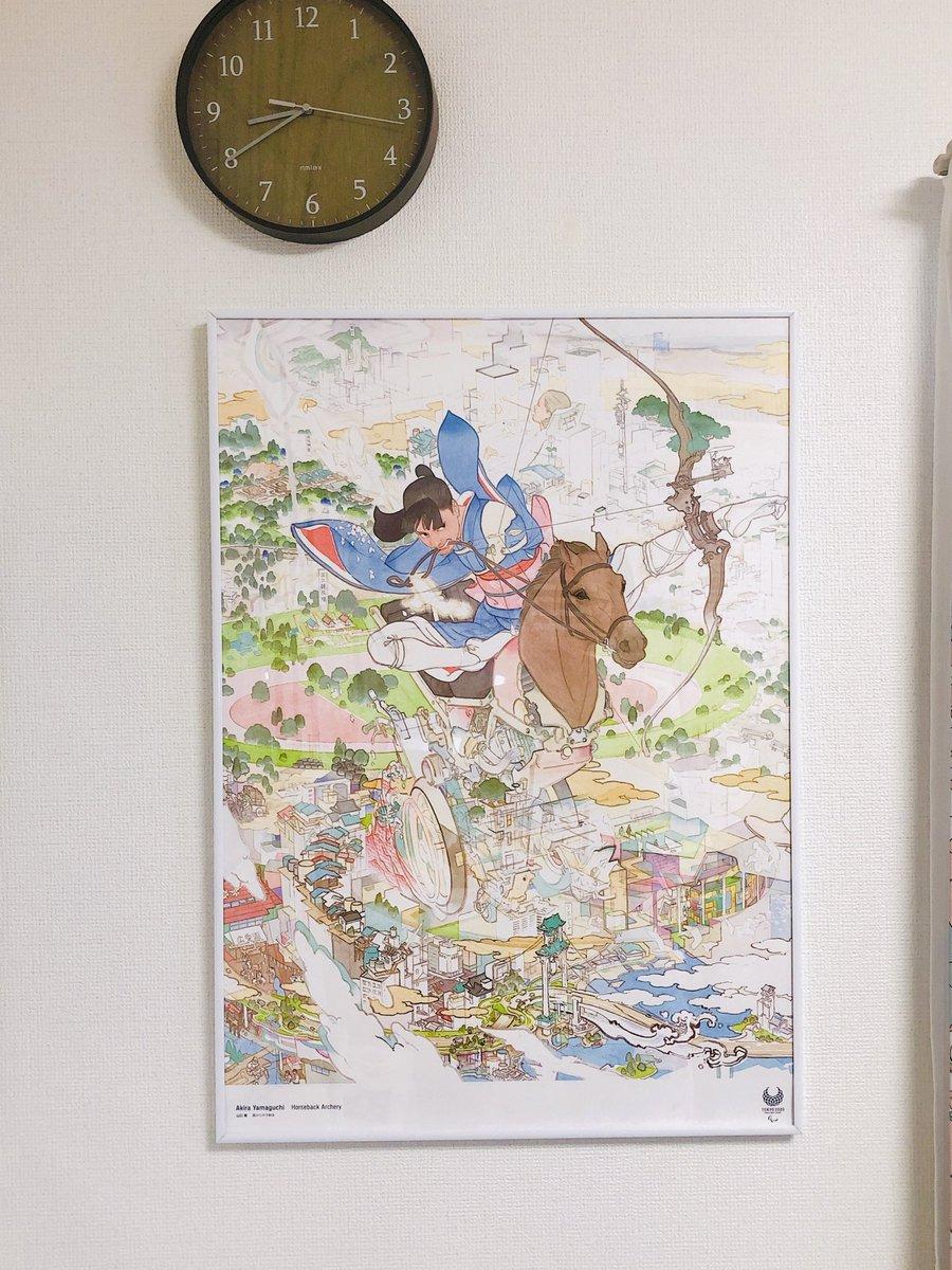 ウッ山口晃さんのパラリンピックポスター素敵すぎる…………