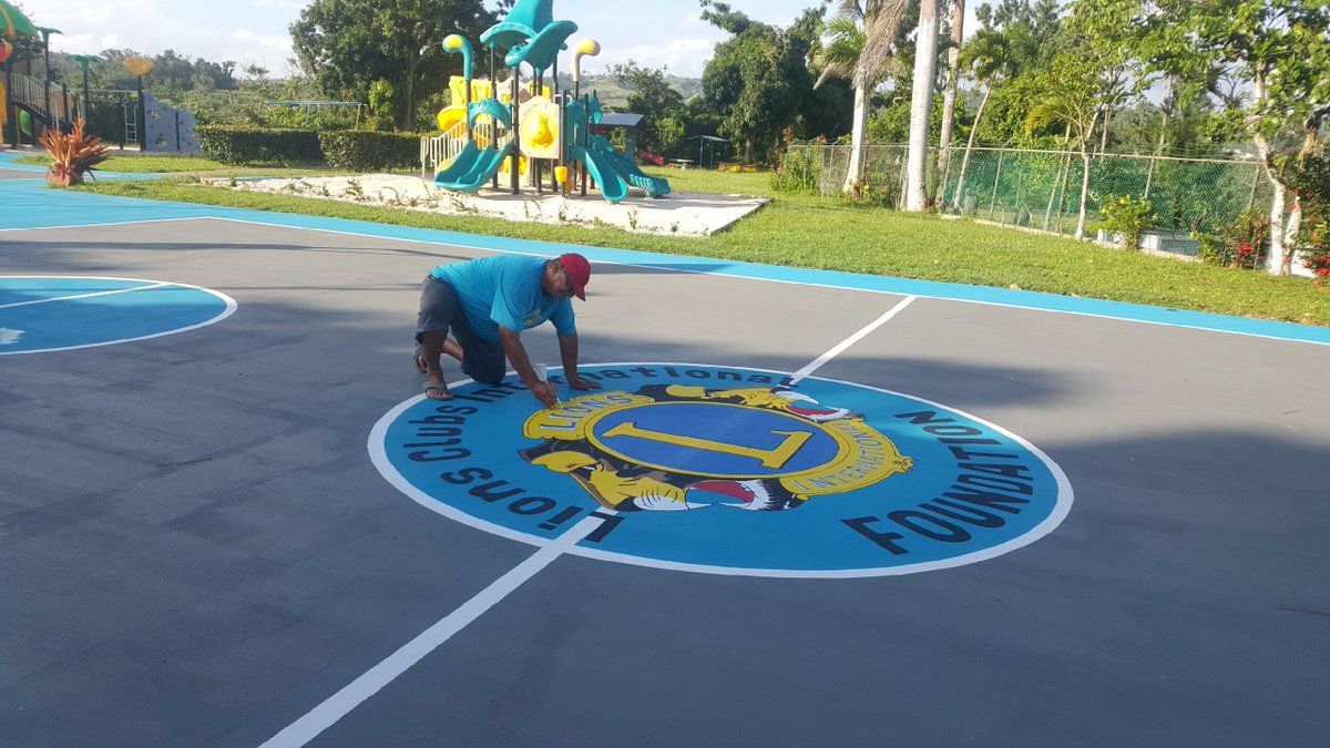 test Twitter Media - Years after Hurricane Maria, Lions in Puerto Rico are still leading disaster relief efforts. They are repairing a Lions Camp in Puerto Rico with new playground equipment and surrounding basketball court. Your support enables Lions to serve (safely)! https://t.co/HmjF1cDven https://t.co/riTOIKiFvr
