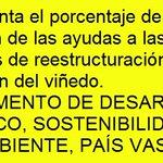 Image for the Tweet beginning: #España #asesoría #viñedo #reestructuración #reconversión
