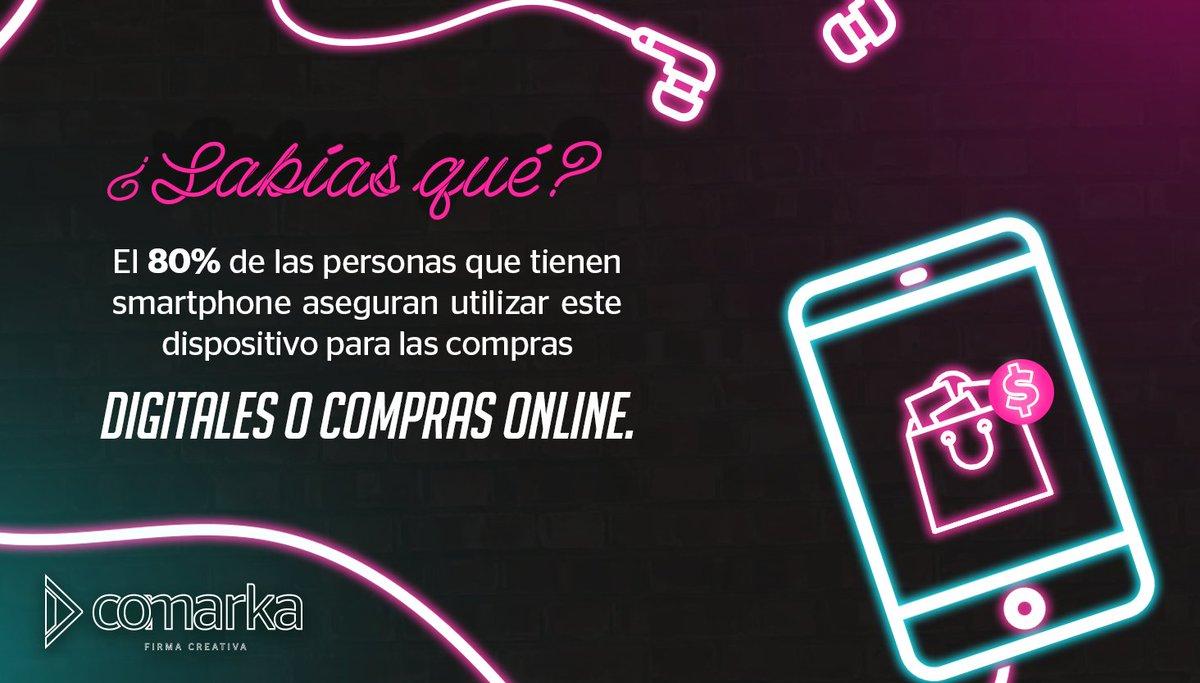 👉🏻Teniendo en cuenta que actualmente todo el mundo tiene smartphone ¿Te animas a montar un e-commerce? 😉📲 #Comarka #FirmaCreativa #Online #ecommerce https://t.co/qF0Eo6d75Y