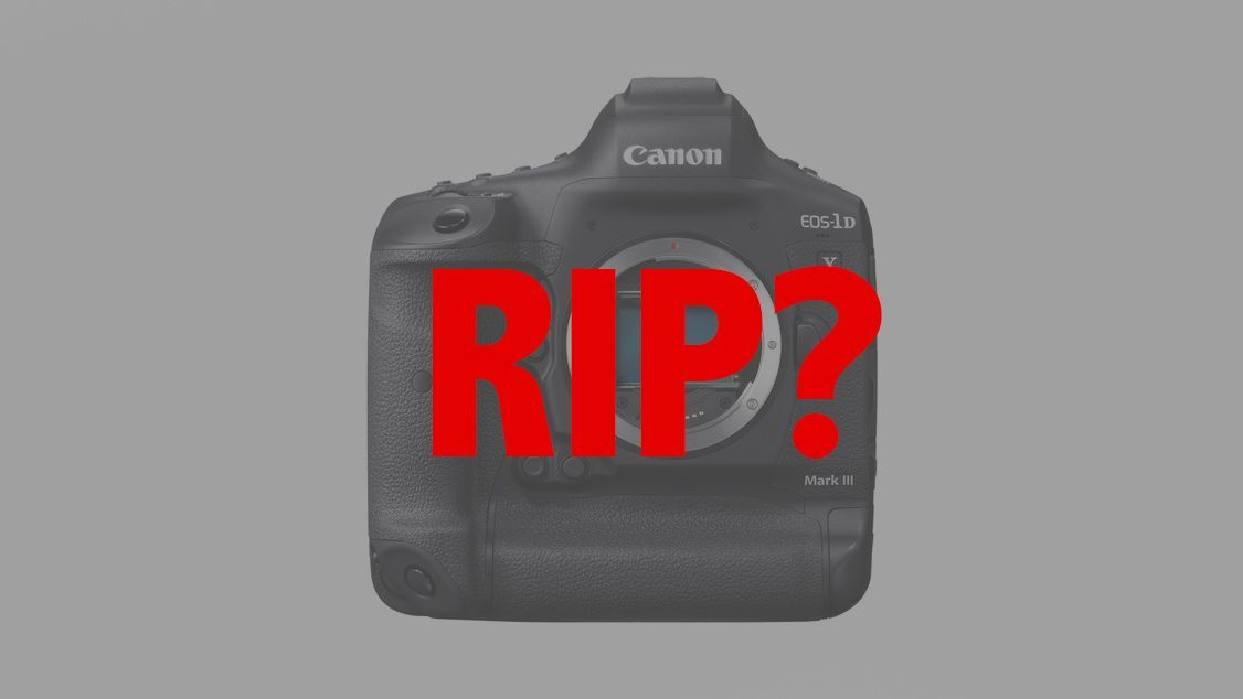 Nail in the coffin for DSLRs? Canon EOS-1D X Mark III to go mirrorless in 2021 https://t.co/PtBrGeXbih https://t.co/S9s4tm9Hiv