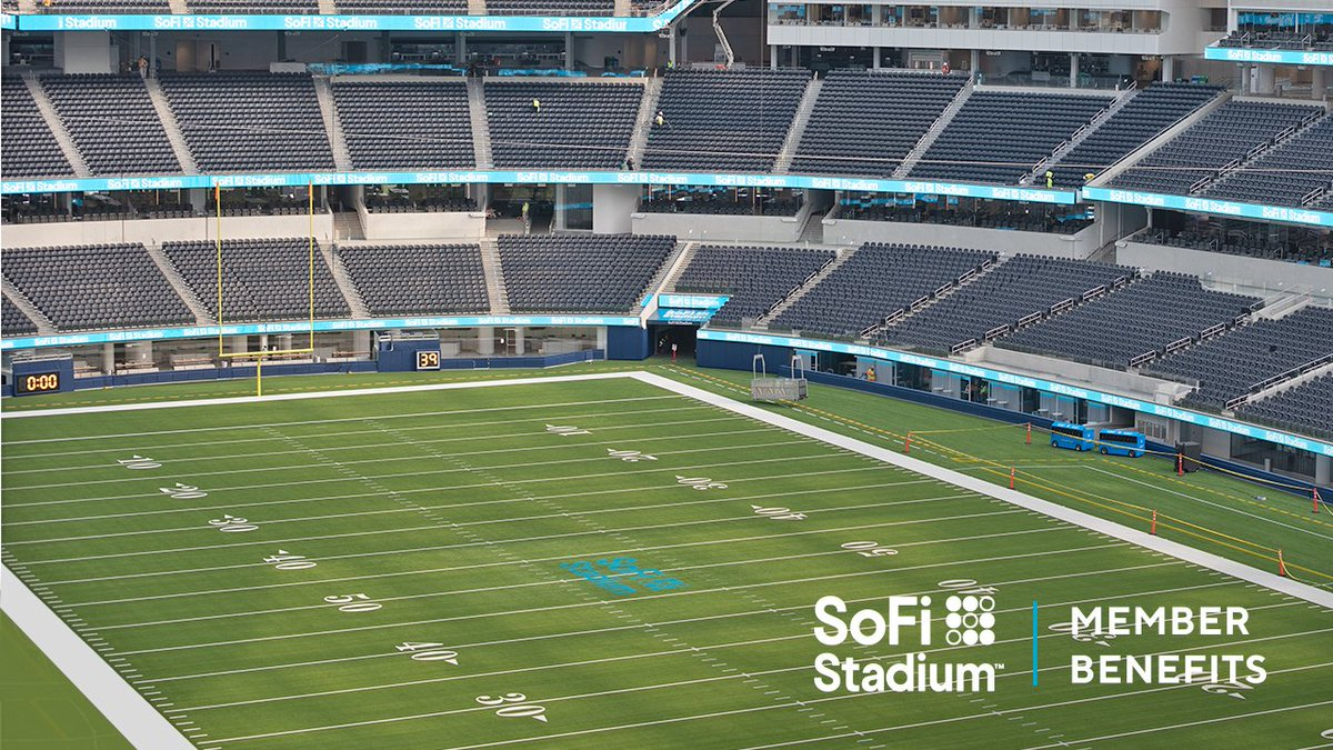 test Twitter Media - Our members get exclusive perks at #SoFiStadium—including some of the best views in the house. Here's a taste of what you'll see from the SoFi Member Lounge. More @SoFiStadium sneak peeks and videos to come. https://t.co/4R0W3opA7R