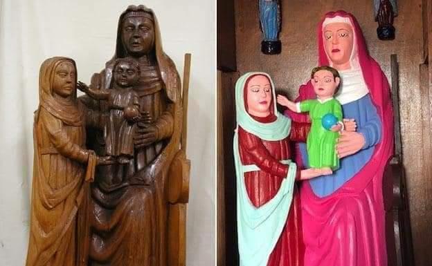 Qué contenta ella. La Virgen, no tanto. https://t.co/qQ2T6V3feX