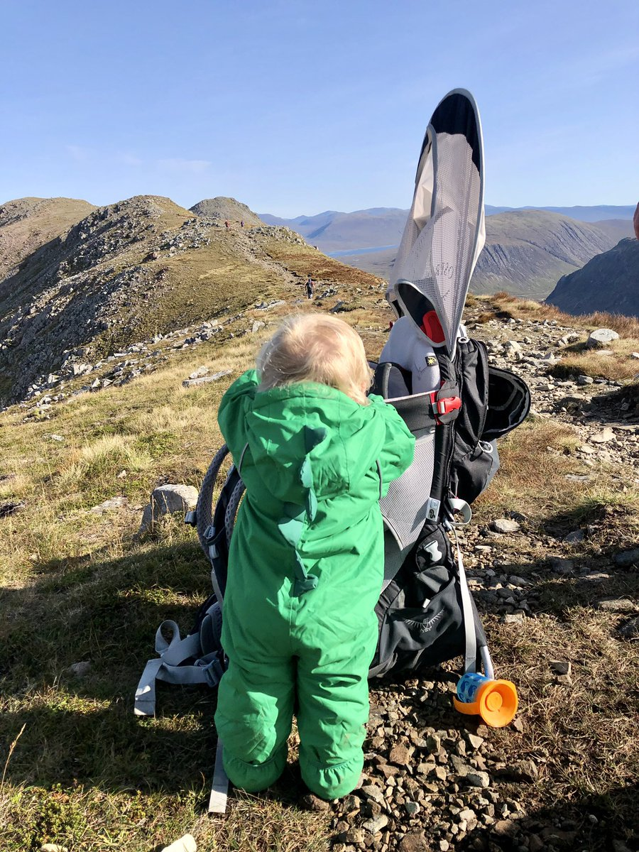 ⛰🥾| Buachaille Etive Beag featuring Calum Beag.   10 months old and ticked off Munro number 3 & 4.   Important for us as a family that he appreciates and values the importance of being active and the beauty of the outdoors. https://t.co/LJbtH8tteB