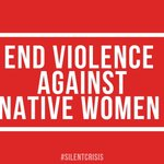 Image for the Tweet beginning: Missing and murdered indigenous women