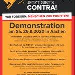 Image for the Tweet beginning: Andreas Pinkwart spricht #Aachen und