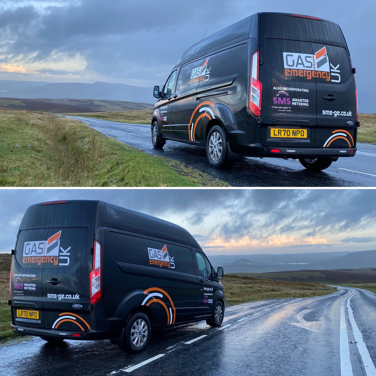 The new fleet hit the valleys of Wales 🏴 this week... We know everyone should appreciate these views. 🤩
